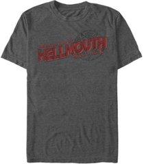 men's buffy the vampire slayer hellmouth hello short sleeve t-shirt