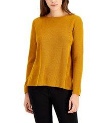 eileen fisher long-sleeve sweater