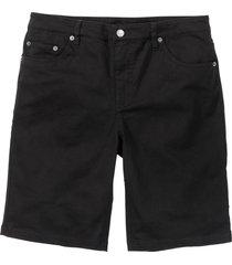 bermuda elasticizzati classic fit (nero) - bpc bonprix collection