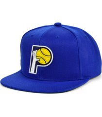 mitchell & ness indiana pacers hwc basic classic snapback cap
