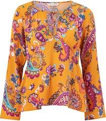 blus knock-off blouse