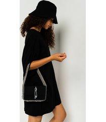 akira wang la ultra chain baguette purse