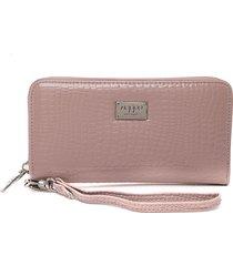 billetera  nappa rosado