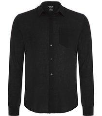 camisa masculina easy - preto