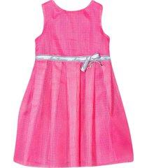 miss blumarine fluo pink dress
