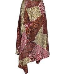 dharma knälång kjol multi/mönstrad by malene birger