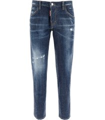 dsquared2 hockney jeans all-over rhinestones