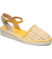 casual shoes textile sandaletter expadrilles låga gul esprit casual