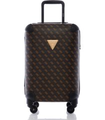 "guess hemingway 20"" hardside carry-on spinner"
