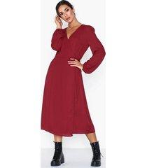 glamorous v neck long sleeve dress långärmade klänningar