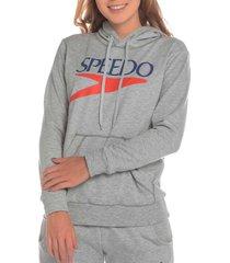 buzo hoodie logo vintage femenino