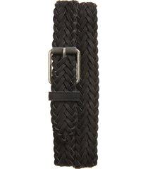 men's rag & bone rugged braided leather belt