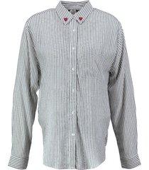 catwalk junkie langere soepele stevige viscose blouse oversized