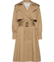 day bon voyage trenchcoat lange jas beige day birger et mikkelsen