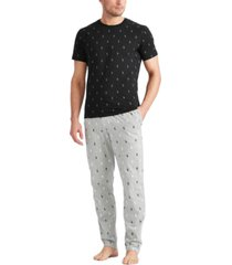 polo ralph lauren men's all over pony sleep shirt