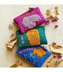zodiac jewelry pouch