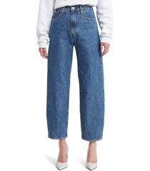 women's levi's balloon leg high waist jeans