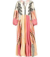 katoenen maxi-jurk positano  multi