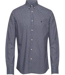 samuel button down shirt overhemd business blauw morris