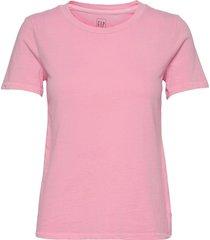 100% organic cotton vintage t-shirt t-shirts & tops short-sleeved rosa gap