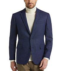 awearness kenneth cole blue tic slim fit sport coat