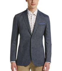 ben sherman navy extreme slim fit sport coat