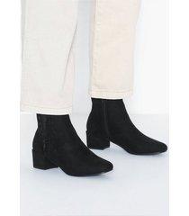 duffy frill boots heel