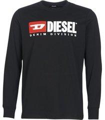 t-shirt lange mouw diesel t just ls division