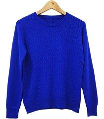 sweater azul mecano classic