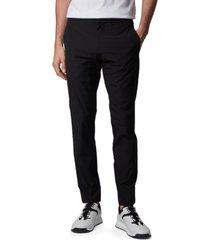 boss men's lavish-3 black pants