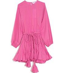 ella dress in prism pink