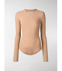 maison margiela long sleeved bodysuit