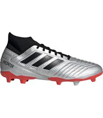 botin gris adidas predator 19.3 df  fg