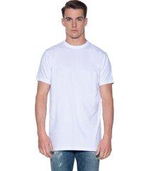 slater basic extra long fit t-shirt met korte mouwen 2-pack