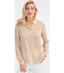 blouse mona camel::ecru