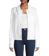 alala women's zephyr jacket - white - size l