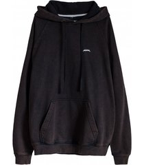 bluza just surf hoodie burnt black
