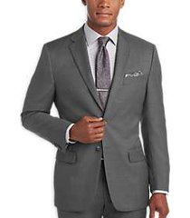joseph abboud gray modern fit suit separates coat