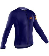 jersey fiorenzo manga larga azul oscuro