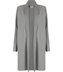 alcaçuz silvana long coat - grey