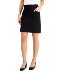 charter club pull-on mini skirt, created for macy's
