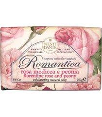 romântica rosas florentinas com essências de peônia nesti dante - sabonete perfumado em barra 250g