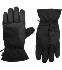 isotoner signature men's lined sport touchscreen gloves