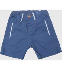 pantalón gabardina azul opaline
