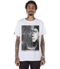 camiseta masculina stoned 2pac x eminem branco