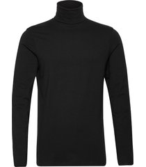 6194765, t-shirt - ted rollneck ls knitwear turtlenecks svart solid