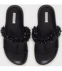 nly shoes beaded strap sandal tofflor