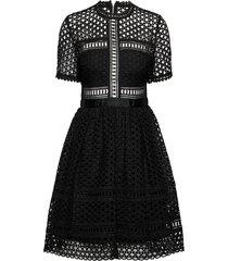 emily dress kort klänning svart by malina