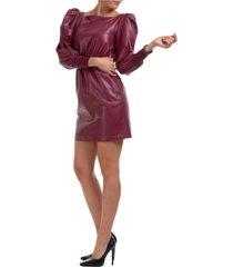 vestito abito donna corto miniabito manica lunga