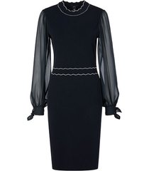 marc cain knitted jurk